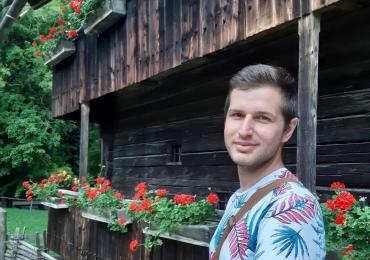 Sprachlehrer Krisztián gibt Italienischkurse in Graz